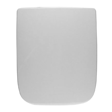 Twyford Galerie Plan Toilet Seat and Cover with Top Fix Stainless Steel Hinges