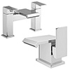 Glacier Modern Tap Package (Bath + Basin Tap) profile small image view 1