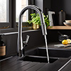 Bristan Gallery Pro Glide Professional Sink Mixer - GLL-PROSNK-C profile small image view 1