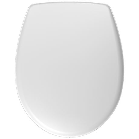 Twyford Galerie Toilet Seat and Cover with Top Fix Stainless Steel Hinges