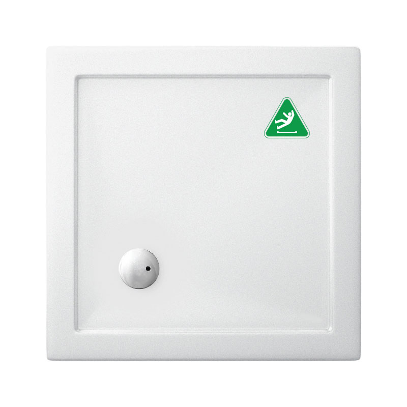 Crosswater Anti-Slip Square 35mm Acrylic Shower Tray - Various Size Options
