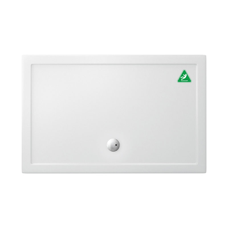 Crosswater Anti-Slip Walk In 35mm Acrylic Shower Tray with Waste - Various Size Options