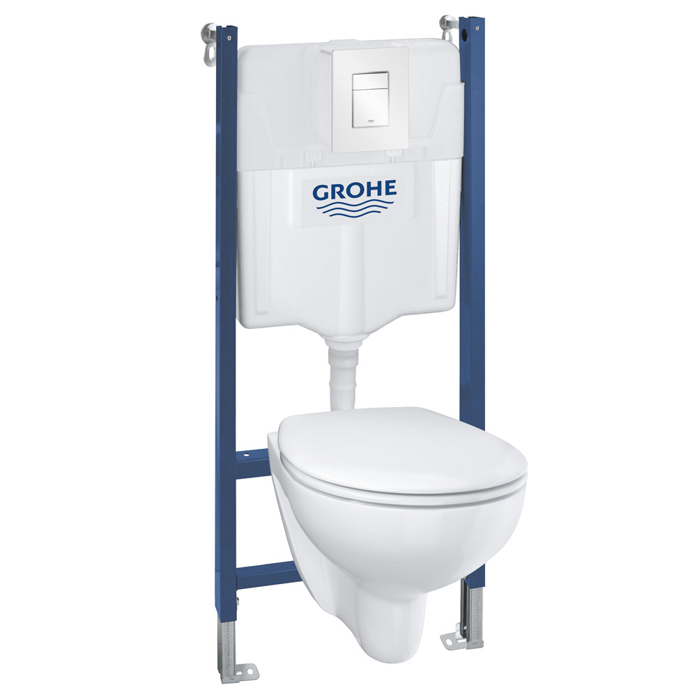 Grohe Solido Bau / Skate Cosmo Complete WC 5 in 1 Pack + FREE GIFT PROMOTION