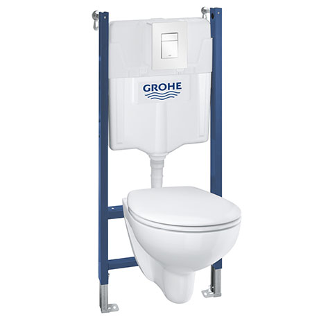 Grohe Solido Bau / Skate Cosmo Complete WC 5 in 1 Pack