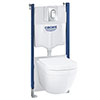 Grohe Solido Euro / Small Plate Complete WC 5 in 1 Pack profile small image view 1