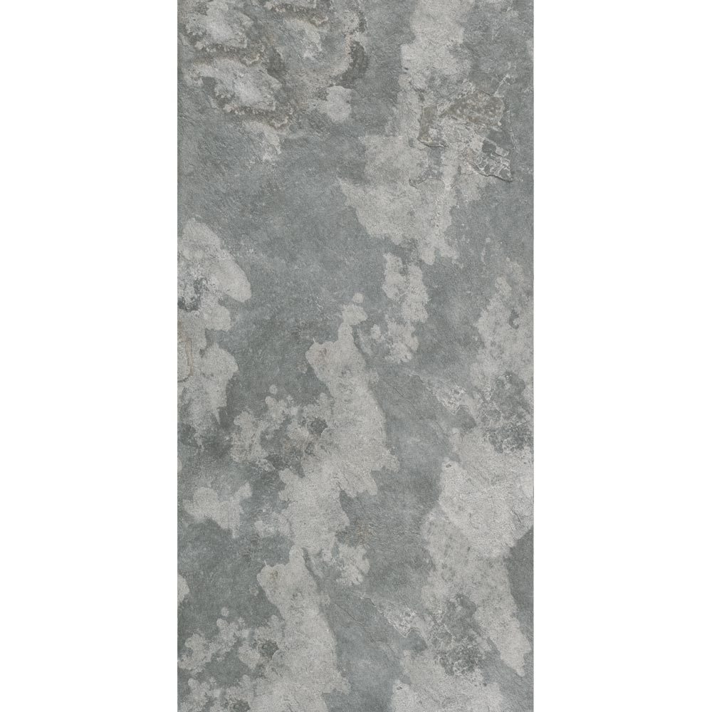 Grado Grey Tile (Matt Textured - 600 x 300mm) In Bathroom Large Image