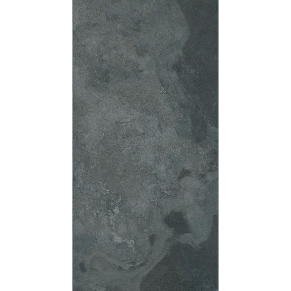 Grado Anthracite Tile (Matt Textured - 600 x 300mm) additional Large Image