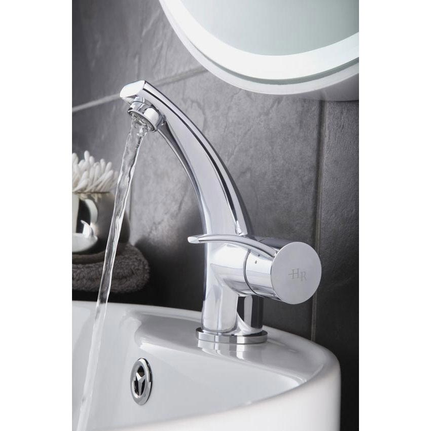 Hudson Reed Grace Mono Basin Mixer Tap without Waste - GRA305 Profile Large Image