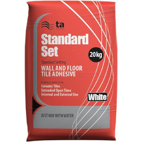 Tilemaster Adhesives - 20kg Standard Set Floor & Wall Tile Adhesive - Grey