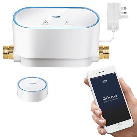 Grohe Sense Smart Water Control + Smart Water Sensor