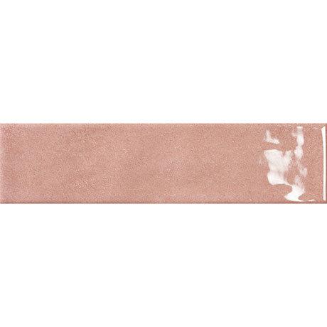 Granley Rustic Pink Gloss Wall Tiles 70 x 280mm