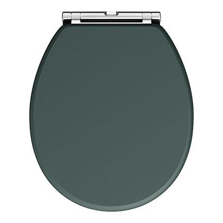 Chatsworth Green Soft Close Toilet Seat