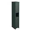 Chatsworth Traditional Green Tall Cabinet profile small image view 1