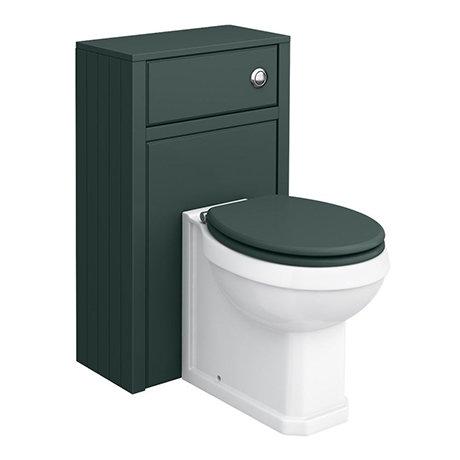 Chatsworth Traditional 500mm Green Toilet Unit + Pan