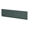 Chatsworth Green 1800 Traditional Front Bath Panel profile small image view 1