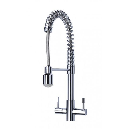 Mayfair - Groove Mono Kitchen Tap with Pull Out Spout - KIT173 Large Image