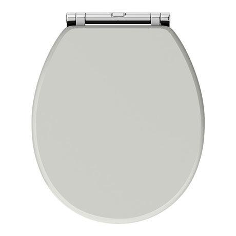 Chatsworth Grey Soft Close Toilet Seat