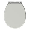 Chatsworth Grey Soft Close Toilet Seat profile small image view 1
