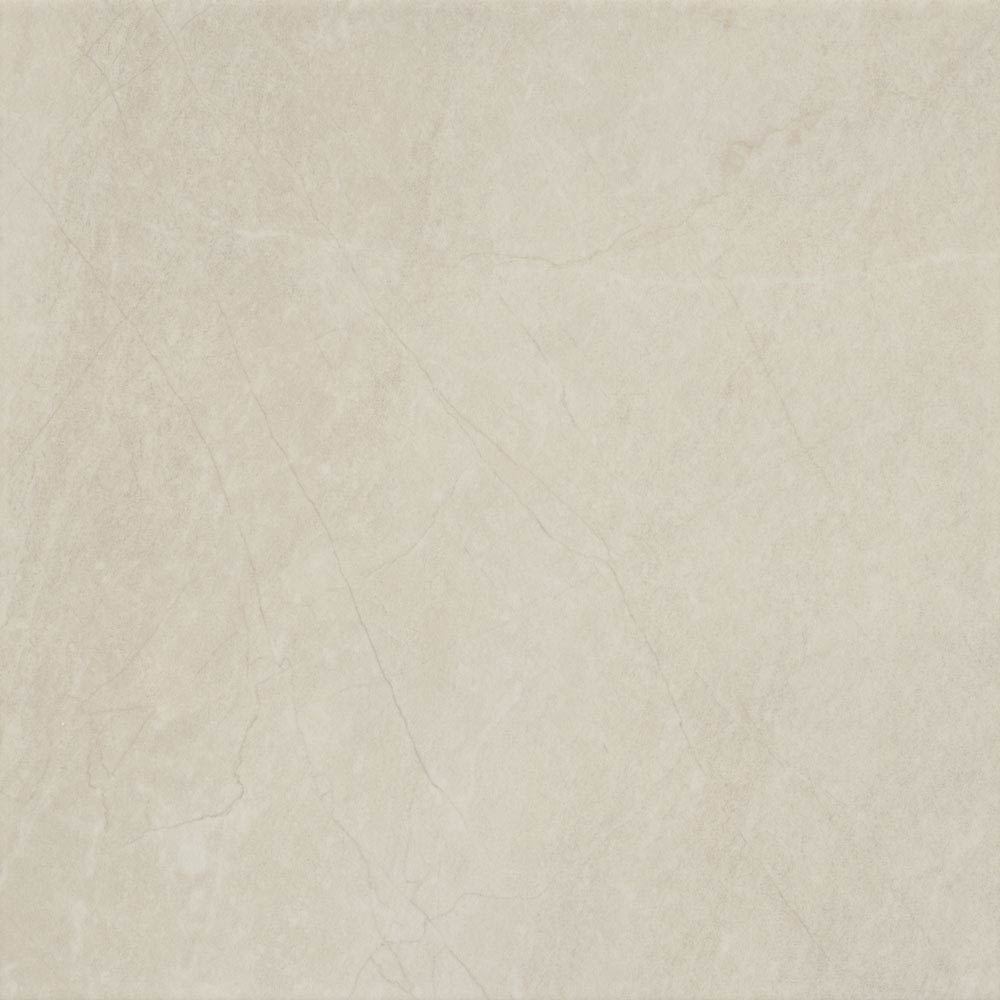 Loreno Light Cream Gloss Porcelain Floor Tiles - 33 x 33cm Large Image