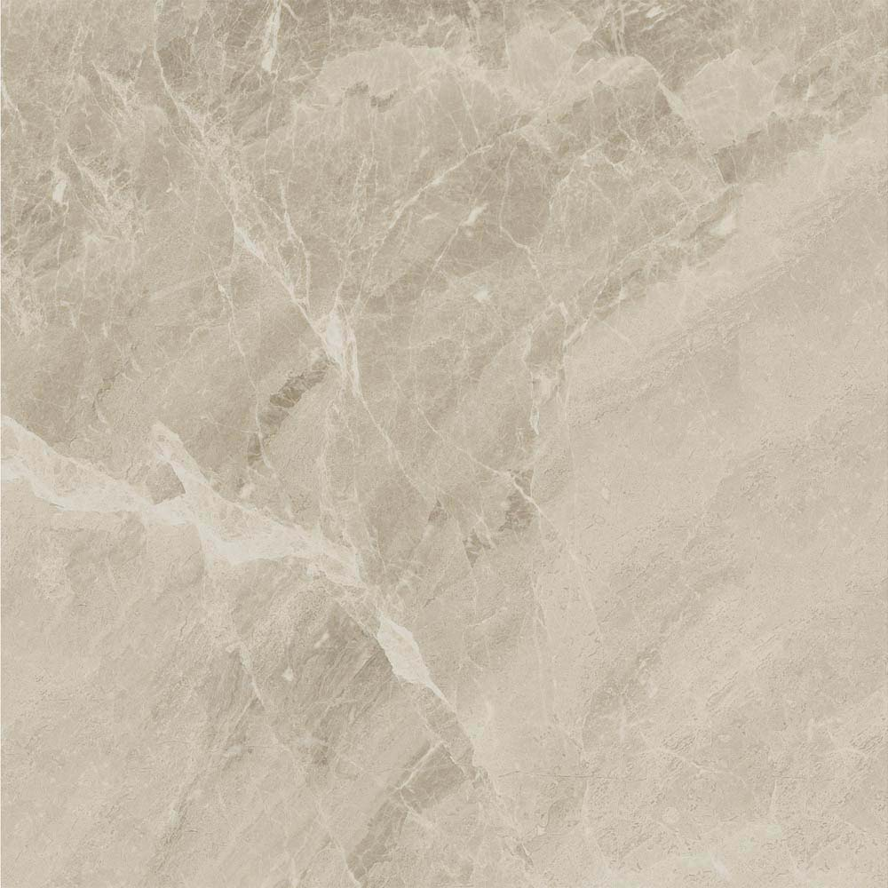 Gio Beige Marble Effect Porcelain Floor Tiles - 45 x 45cm  Feature Large Image