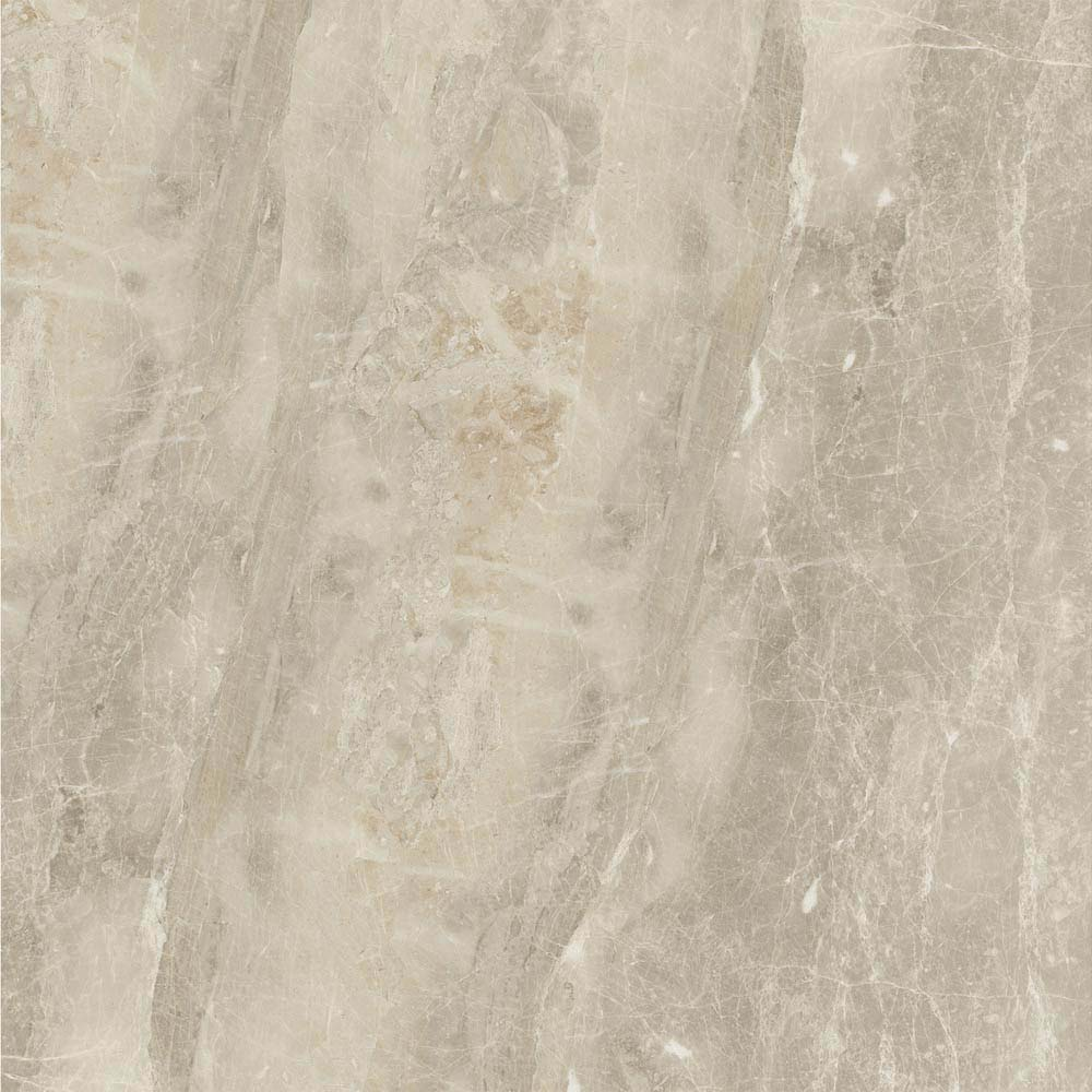 Gio Beige Marble Effect Porcelain Floor Tiles - 45 x 45cm  In Bathroom Large Image