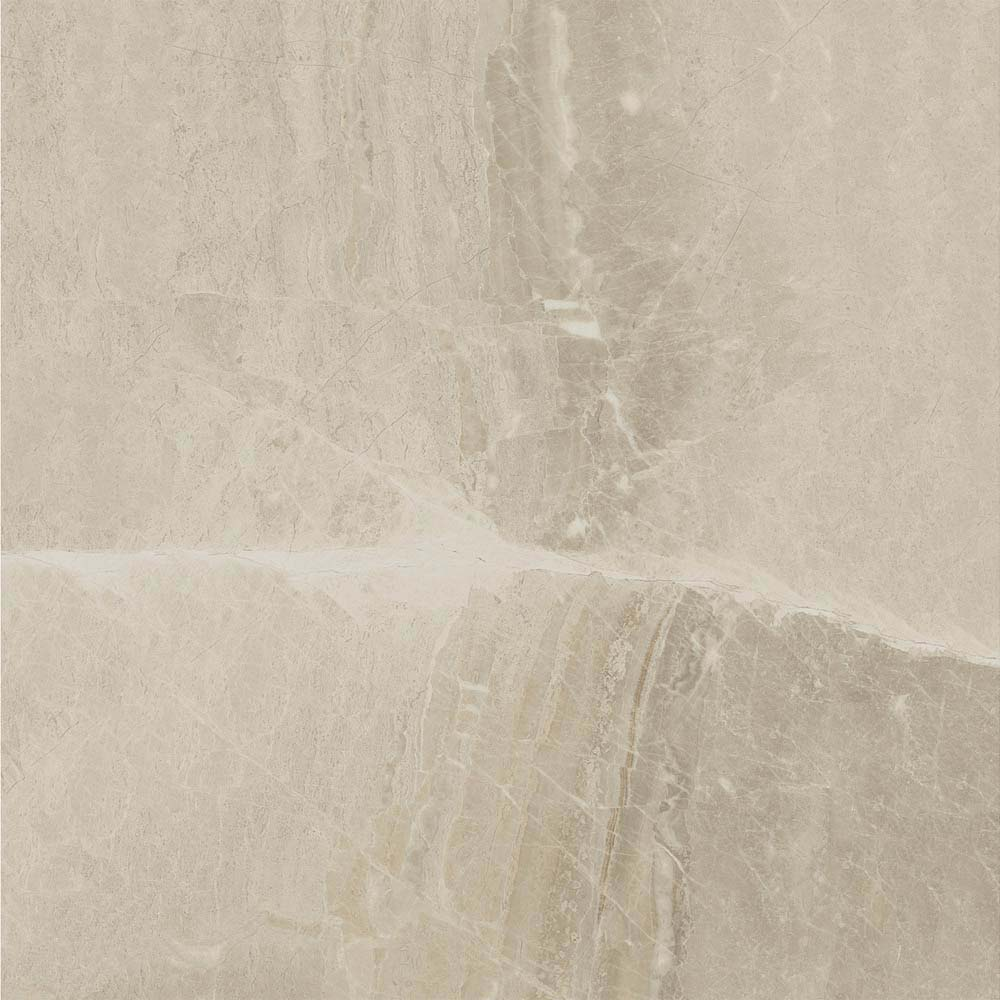 Gio Beige Marble Effect Porcelain Floor Tiles - 45 x 45cm  additional Large Image