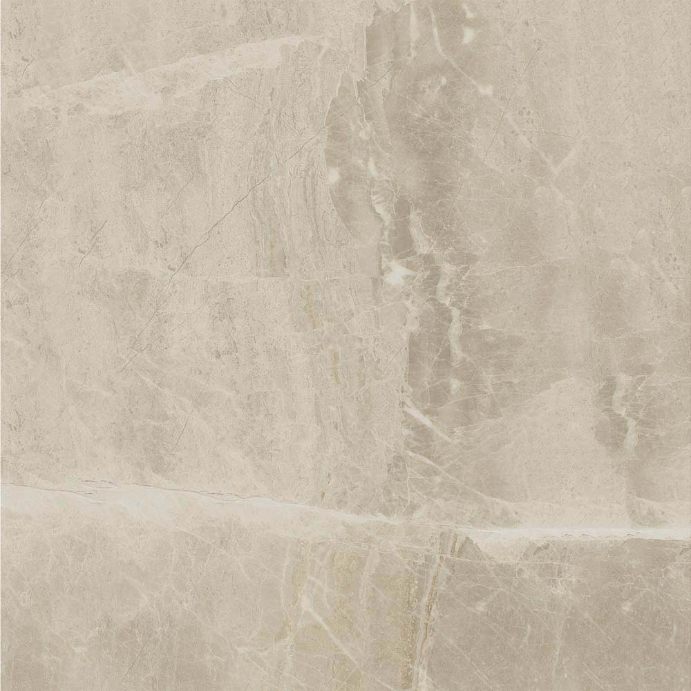 Gio Beige Marble Effect Porcelain Floor Tiles - 45 x 45cm  Newest Large Image