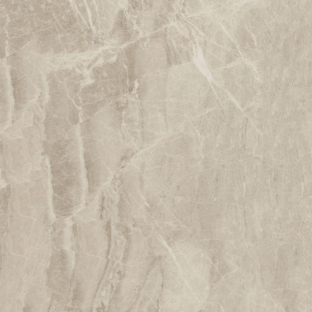 Gio Beige Marble Effect Porcelain Floor Tiles - 45 x 45cm Large Image