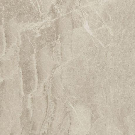 Gio Beige Marble Effect Porcelain Floor Tiles - 45 x 45cm