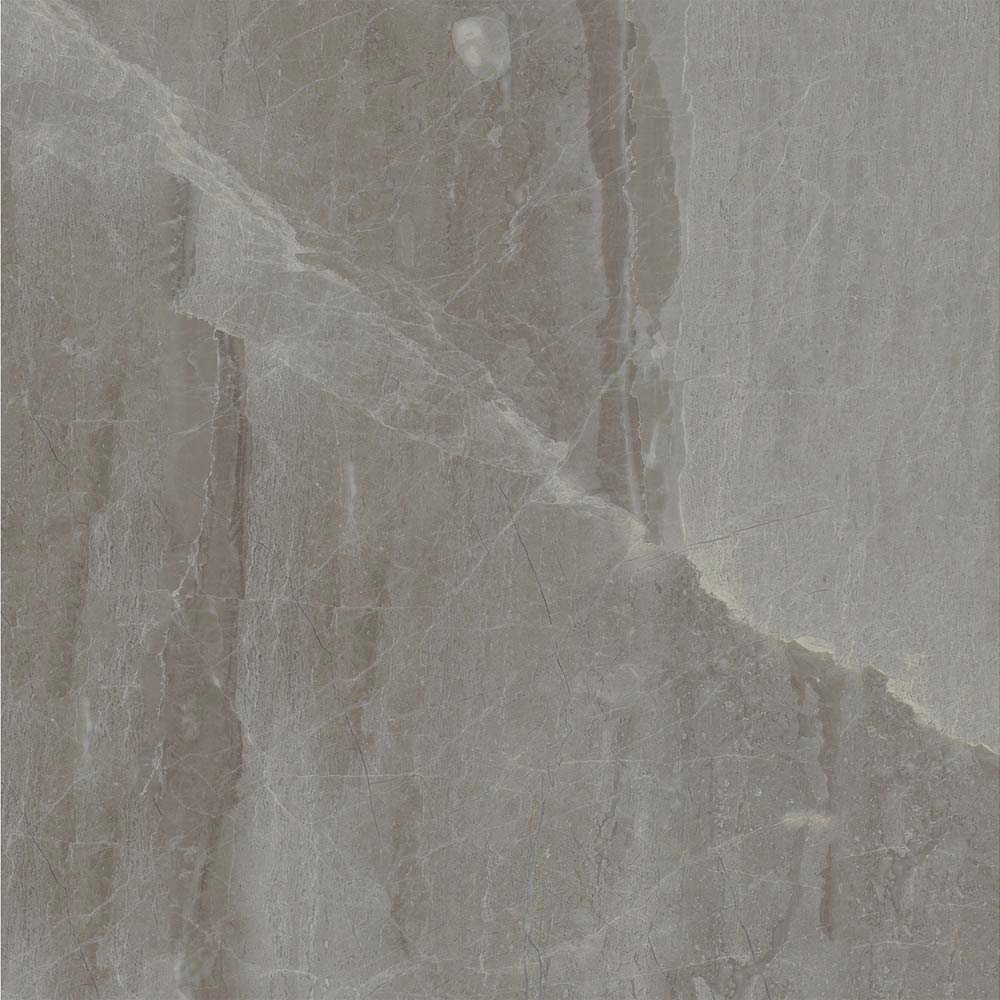 Gio Grey Marble Effect Porcelain Floor Tiles - 45 x 45cm  Feature Large Image