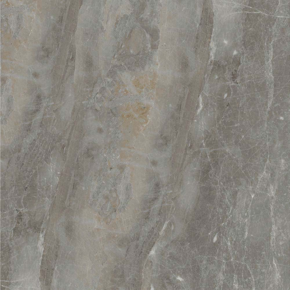 Gio Grey Marble Effect Porcelain Floor Tiles - 45 x 45cm  Newest Large Image
