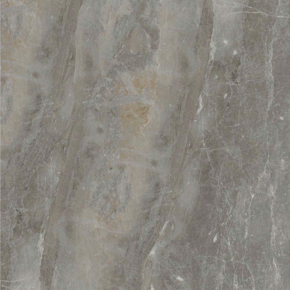 Gio Grey Marble Effect Porcelain Floor Tiles - 45 x 45cm
