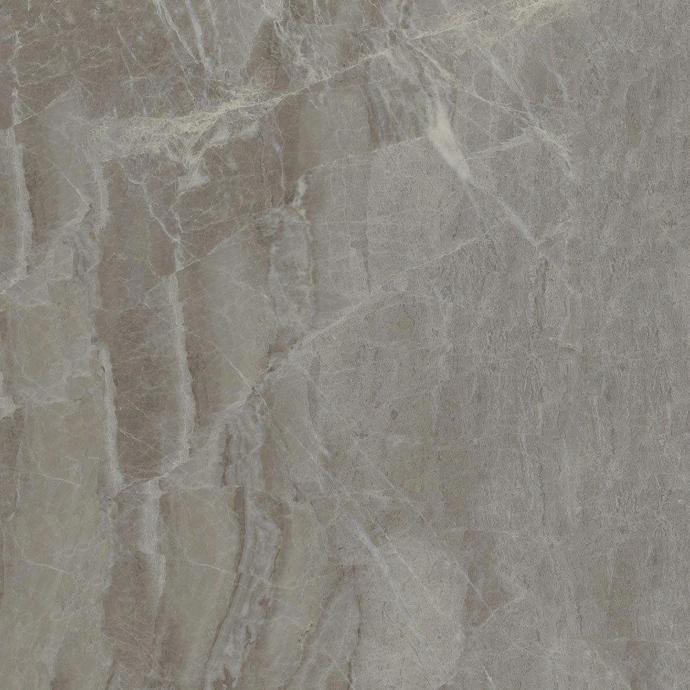 Gio Grey Marble Effect Porcelain Floor Tiles - 45 x 45cm Large Image