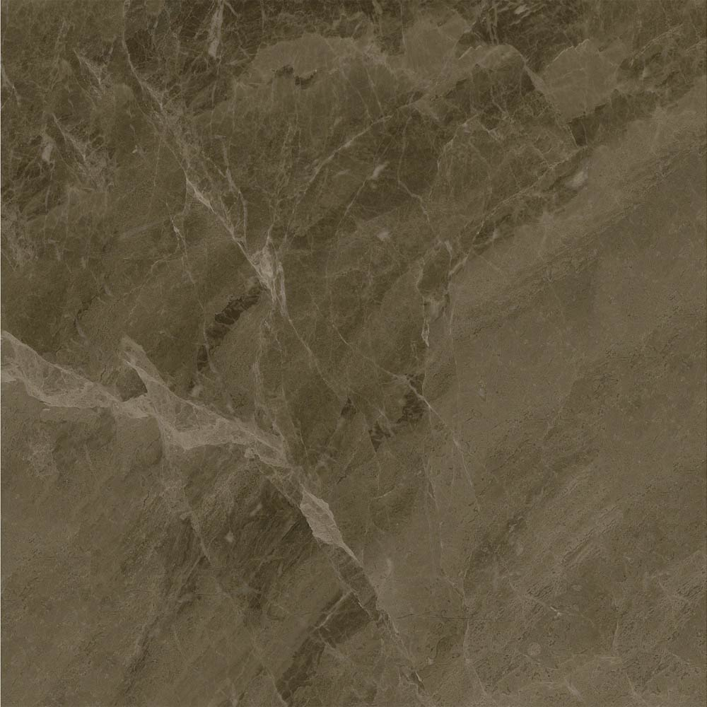 Gio Brown Marble Effect Porcelain Floor Tiles - 45 x 45cm  In Bathroom Large Image