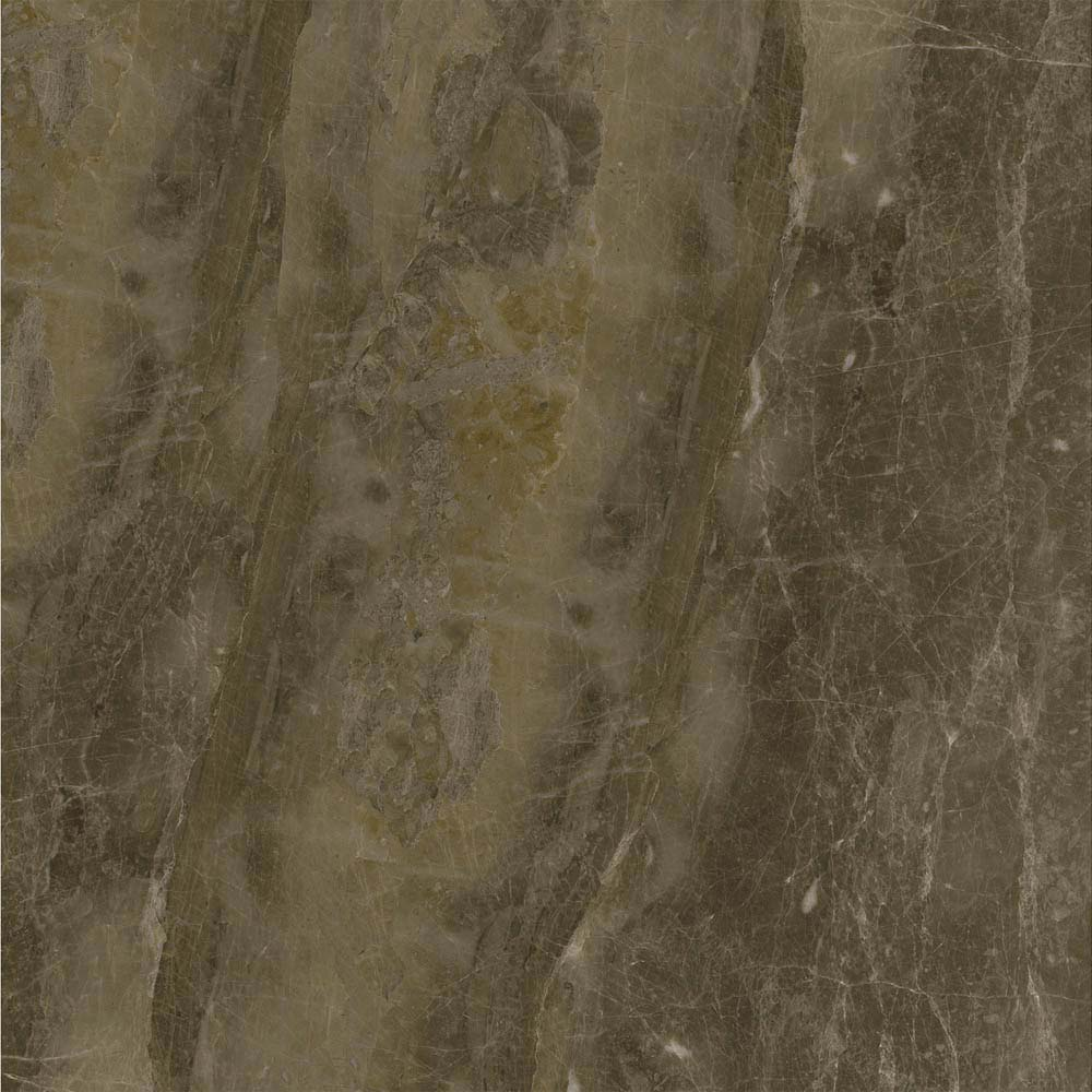 Gio Brown Marble Effect Porcelain Floor Tiles - 45 x 45cm  additional Large Image