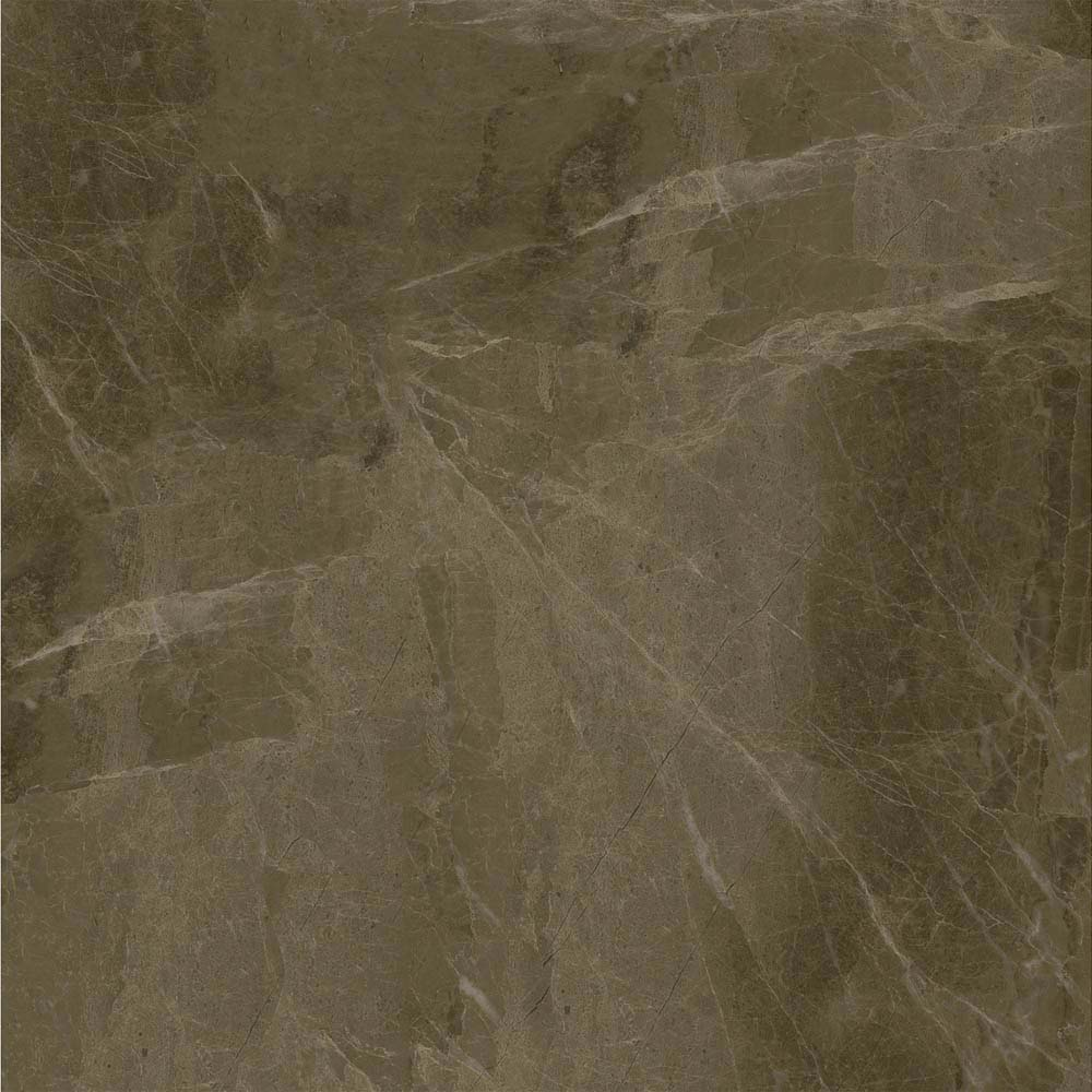 Gio Brown Marble Effect Porcelain Floor Tiles - 45 x 45cm  Newest Large Image