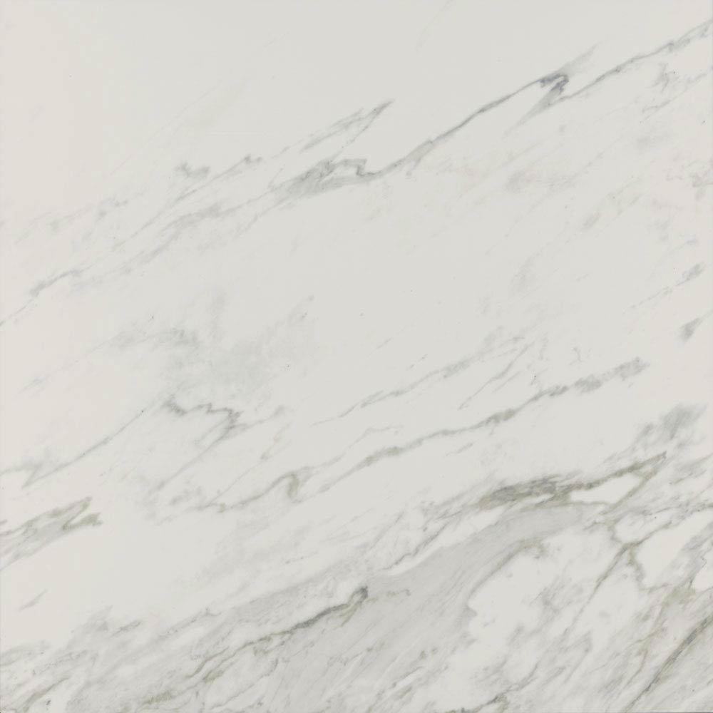 Pavia Grey Gloss Porcelain Floor Tiles - 60 x 60cm Large Image