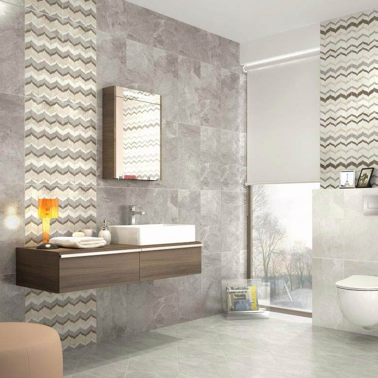 Casca White Matt Porcelain Floor Tiles - 60 x 60cm  Profile Large Image