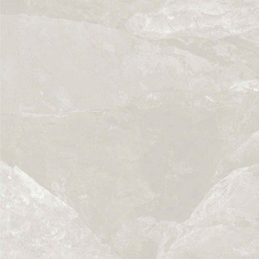 Casca White Matt Porcelain Floor Tiles - 60 x 60cm  Standard Large Image