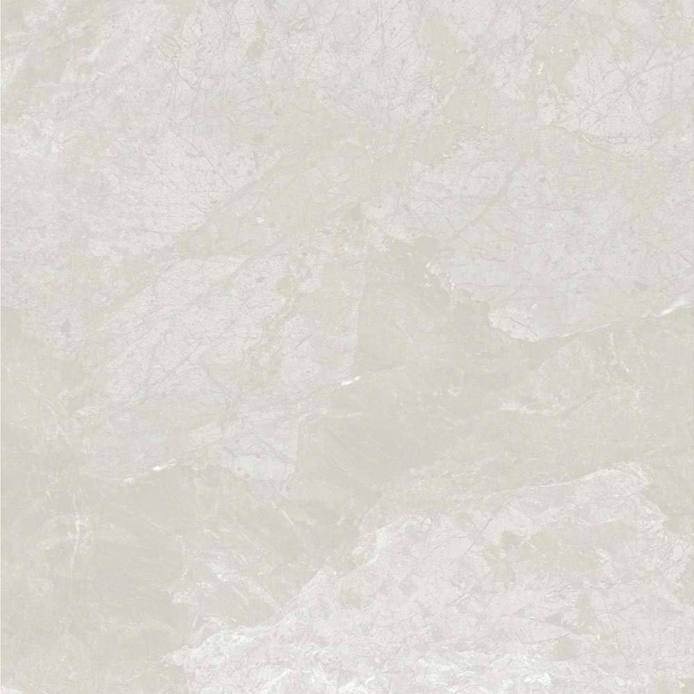 Casca White Matt Porcelain Floor Tiles - 60 x 60cm  additional Large Image