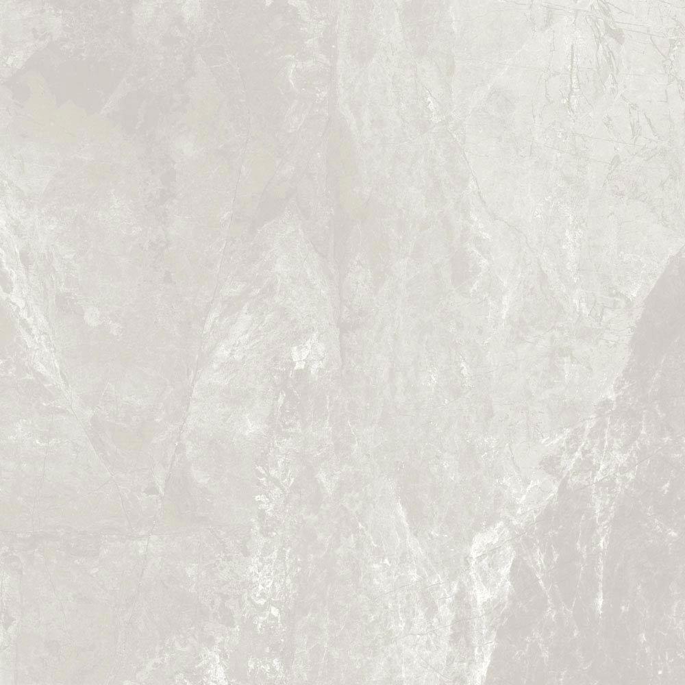 Casca White Matt Porcelain Floor Tiles - 60 x 60cm Large Image