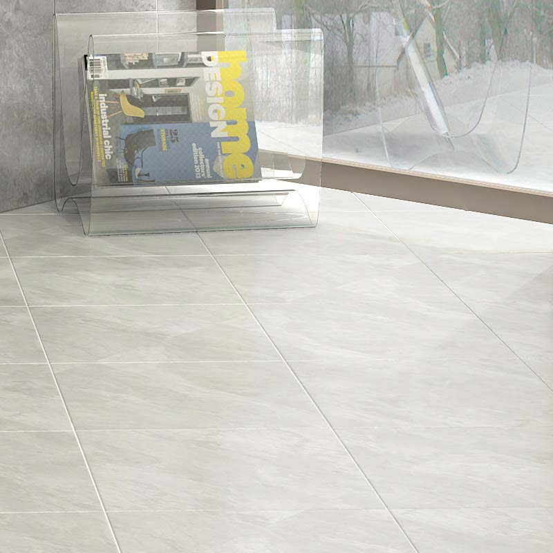 Casca White Matt Porcelain Floor Tiles 60 X 60cm