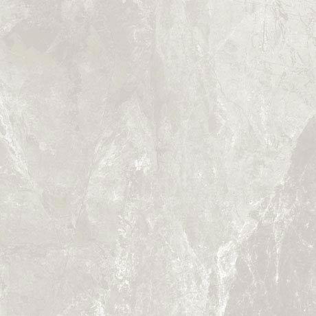Casca White Matt Porcelain Floor Tiles - 60 x 60cm