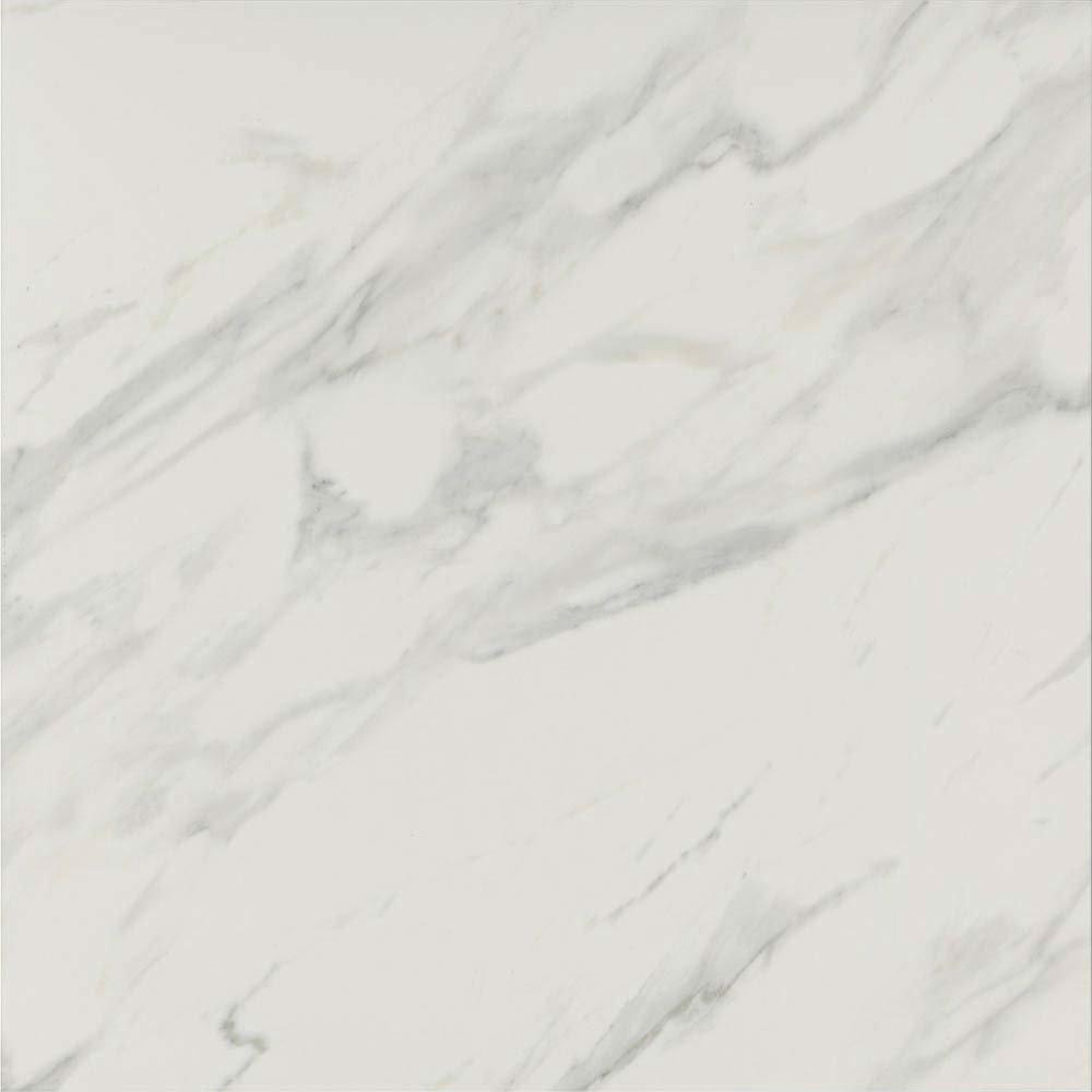 Pavia Grey Gloss Porcelain Floor Tiles - 60 x 60cm  Profile Large Image