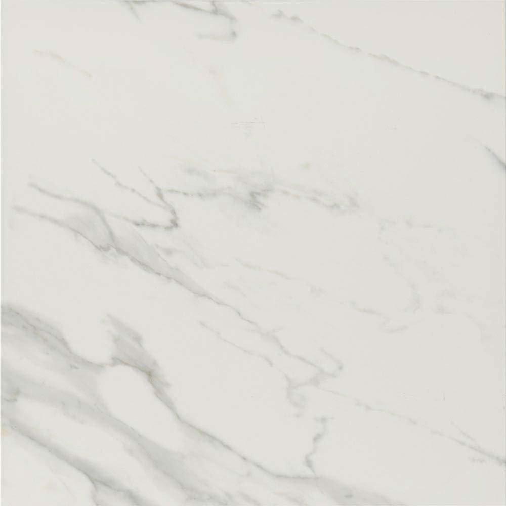 Pavia Grey Gloss Porcelain Floor Tiles - 60 x 60cm  Feature Large Image