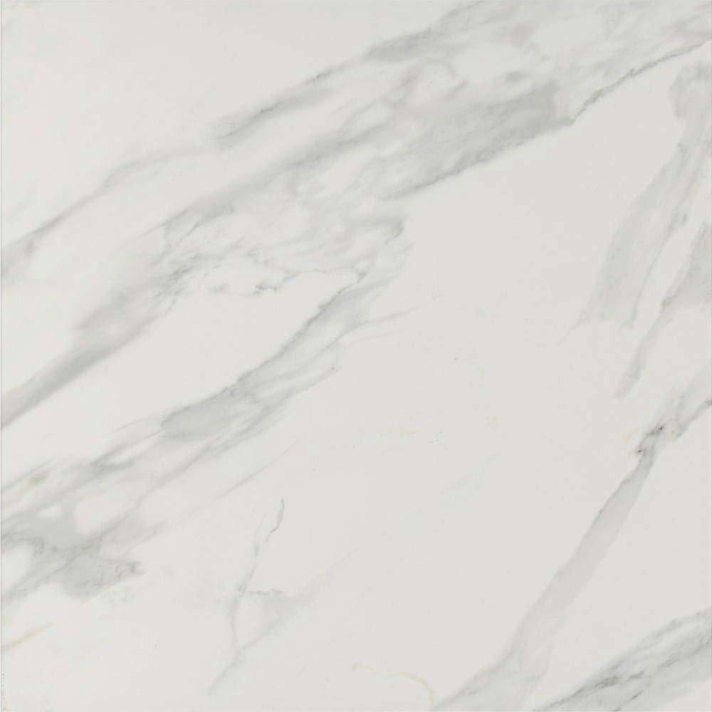 Pavia Grey Gloss Porcelain Floor Tiles - 60 x 60cm  Standard Large Image