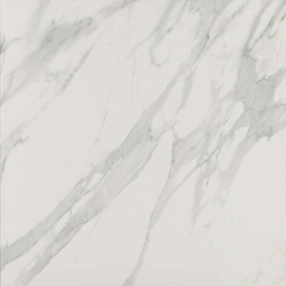 Pavia Grey Gloss Porcelain Floor Tiles - 60 x 60cm  Newest Large Image