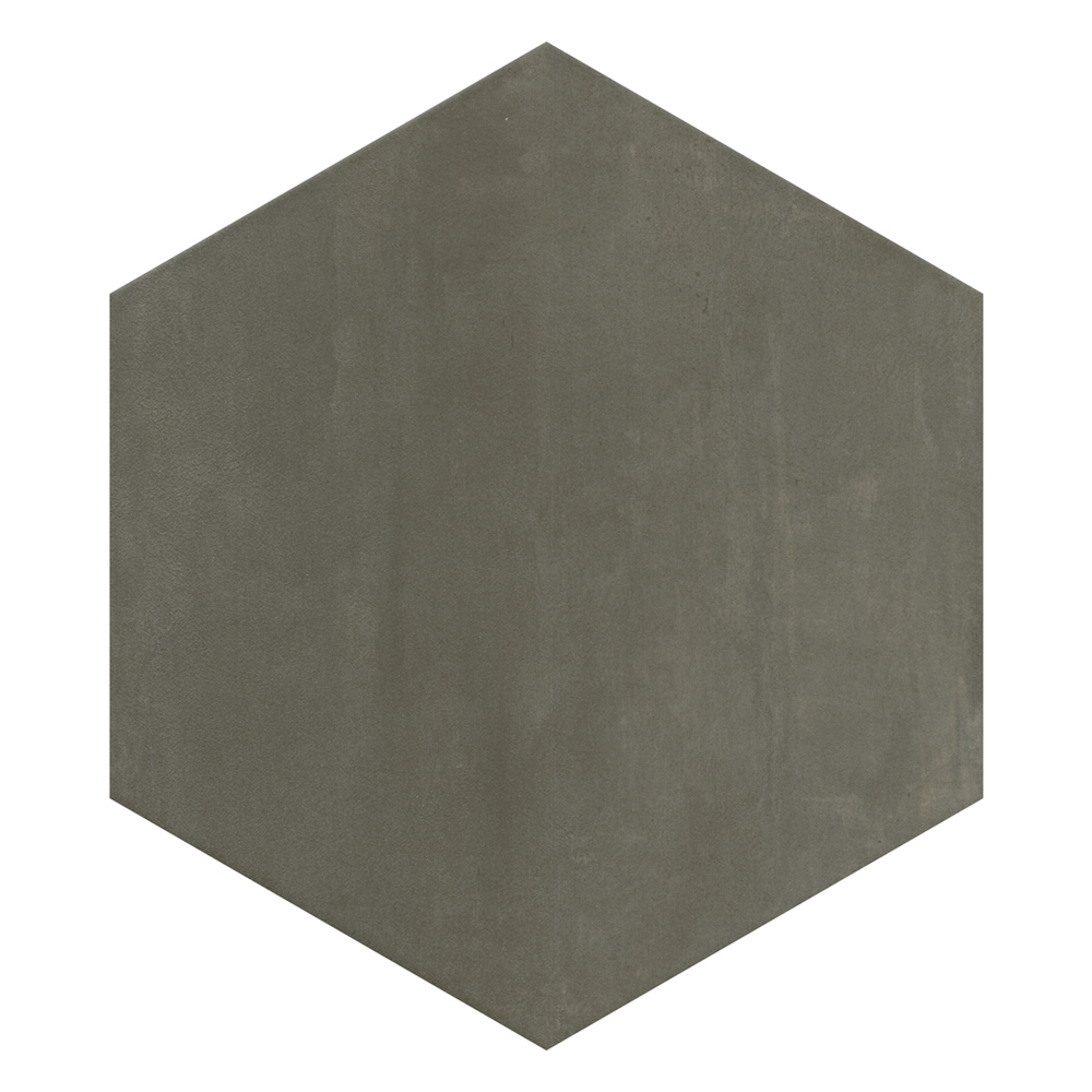 Vista Hexagon Grey Wall Tiles - 30 x 38cm  Profile Large Image