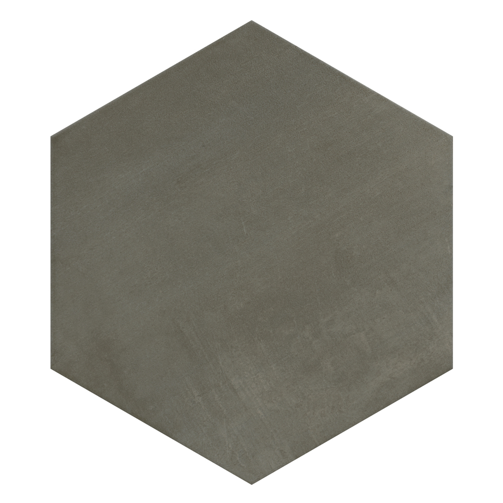 Vista Hexagon Grey Wall Tiles - 30 x 38cm  Feature Large Image