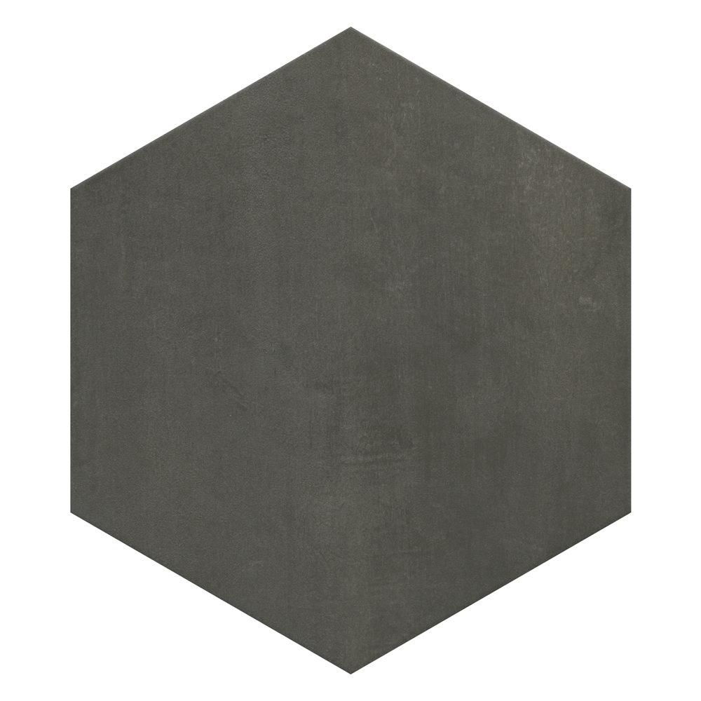 Vista Hexagon Dark Grey Wall Tiles - 30 x 38cm  Newest Large Image